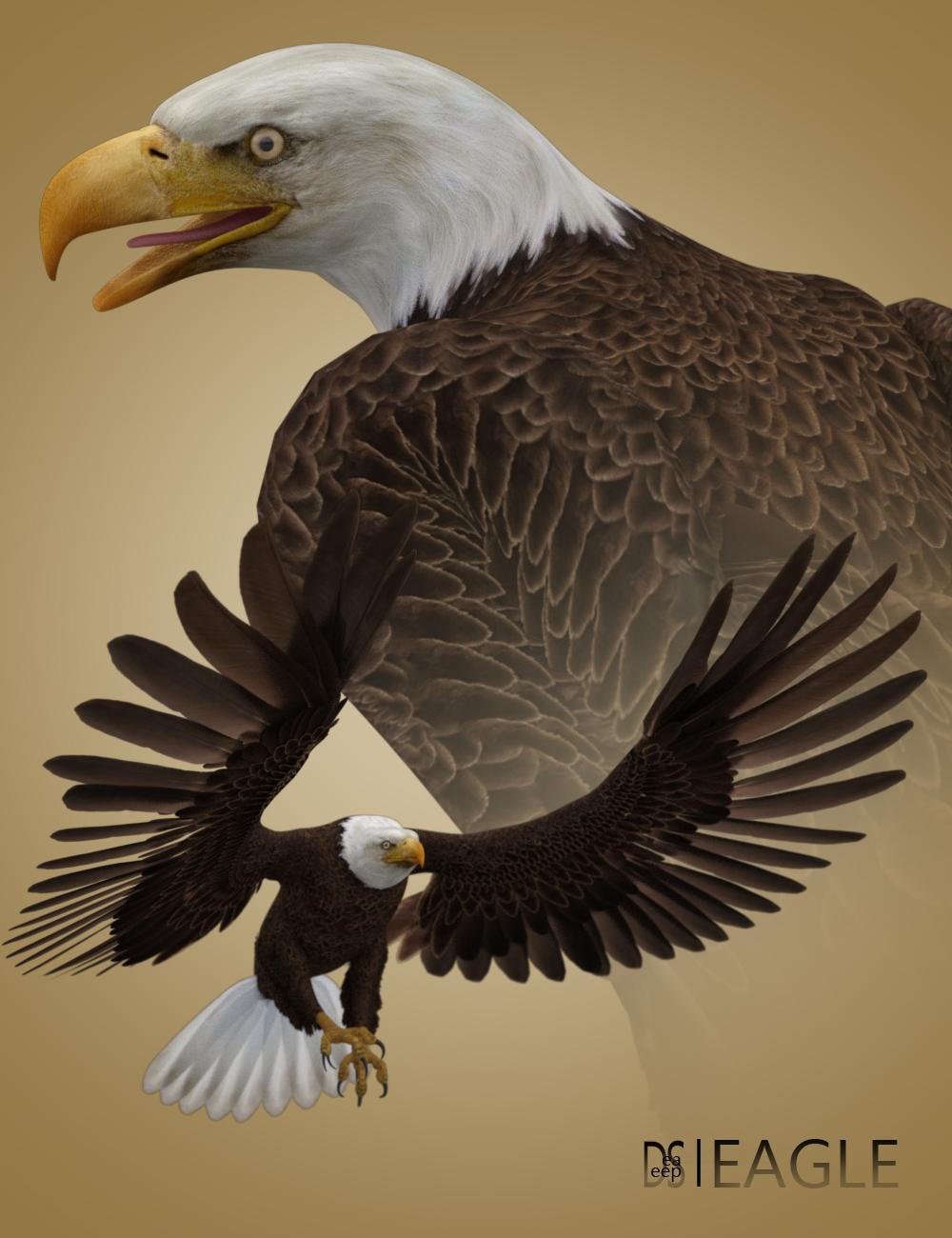 Deepsea's Eagle by: Deepsea, 3D Models by Daz 3D