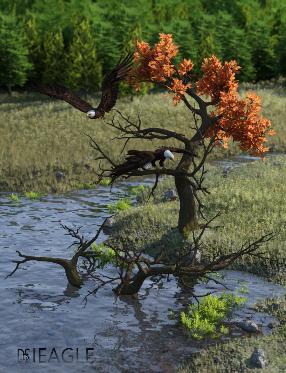Deepsea's Eagle Tree Environment by: Deepsea, 3D Models by Daz 3D