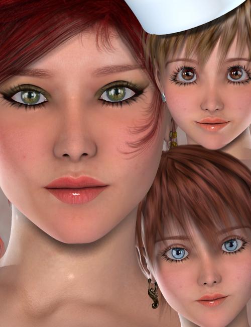 Annie by: Virtual_World, 3D Models by Daz 3D