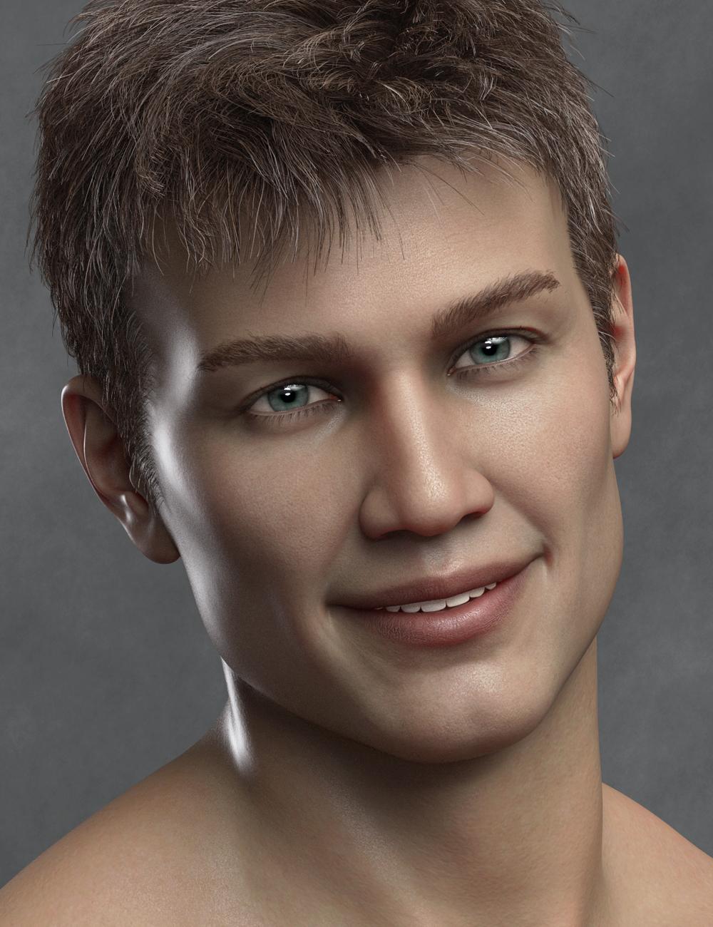 Burchard HD for Tristan 8 by: Emrys, 3D Models by Daz 3D