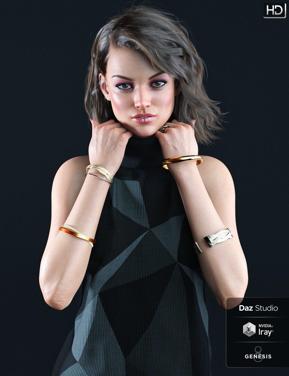 Michelle HD for Genesis 8 Female by: Kayleyss, 3D Models by Daz 3D