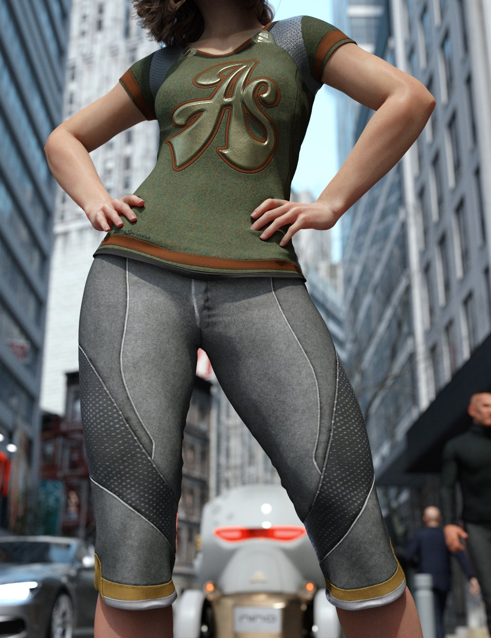 Sporty for Everyday 2 by: Aeon Soul, 3D Models by Daz 3D