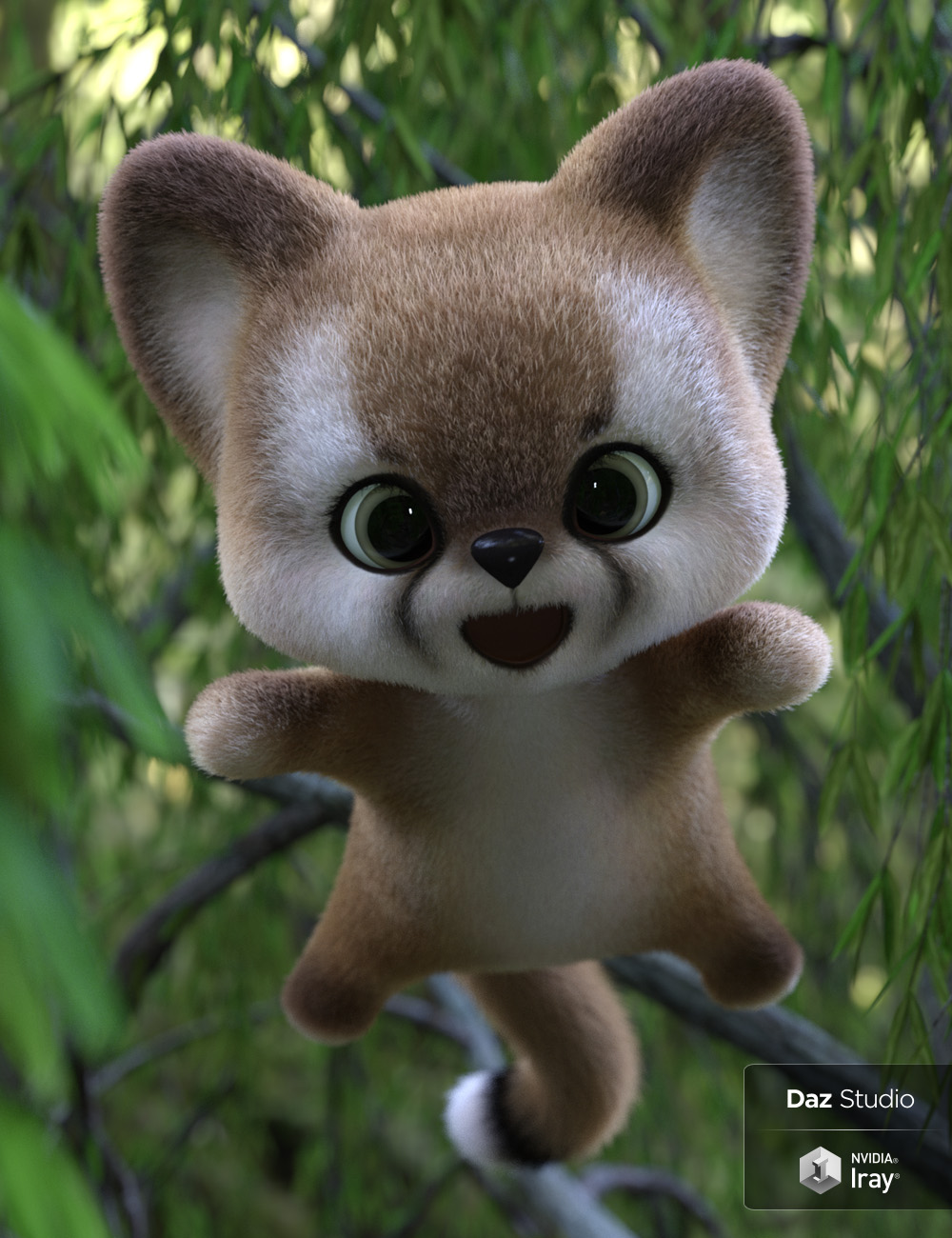 Pounce the Puma - Plushies 2.0 by: Lady Littlefox, 3D Models by Daz 3D