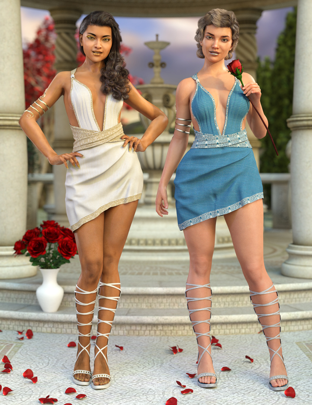 Eleia Outfit Textures by: DirtyFairy, 3D Models by Daz 3D
