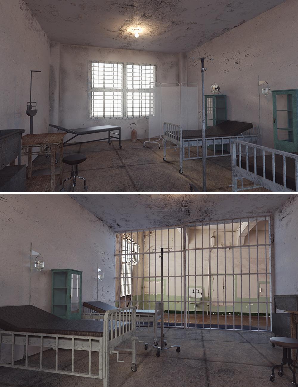 Alcatraz Hospital by: Digitallab3D, 3D Models by Daz 3D