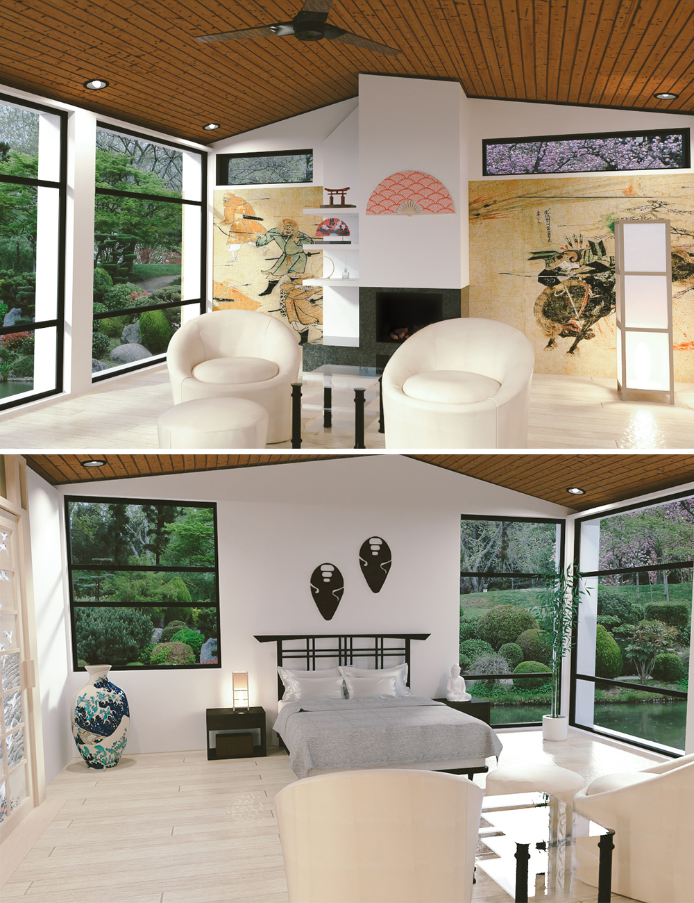 Asian Master Suite by: kubramatic, 3D Models by Daz 3D