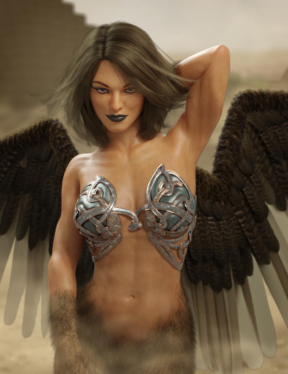 Sphinx for Genesis 8 Female by: RawArt, 3D Models by Daz 3D