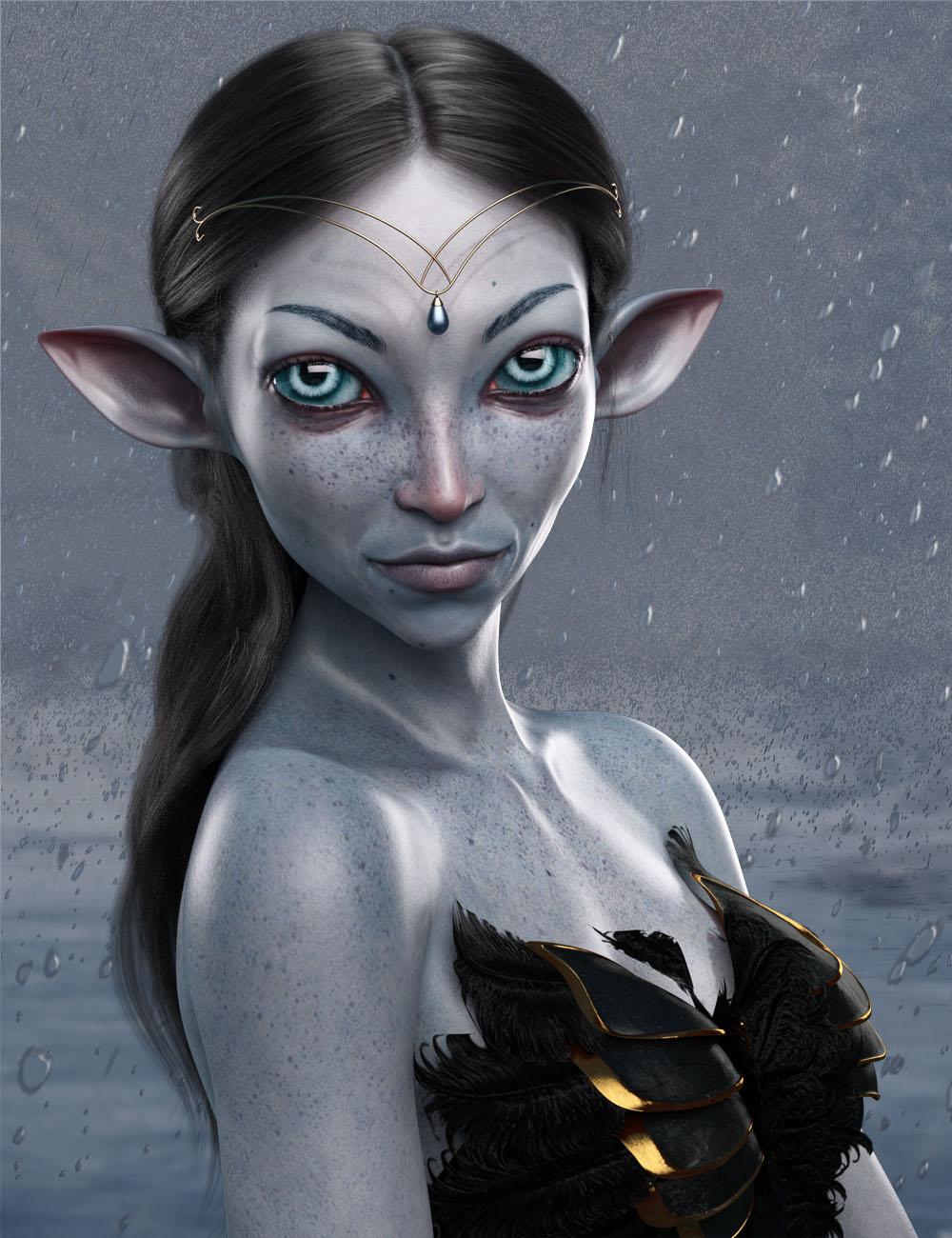 Winter Fae HD for Genesis 8 Female by: Josh Crockett, 3D Models by Daz 3D