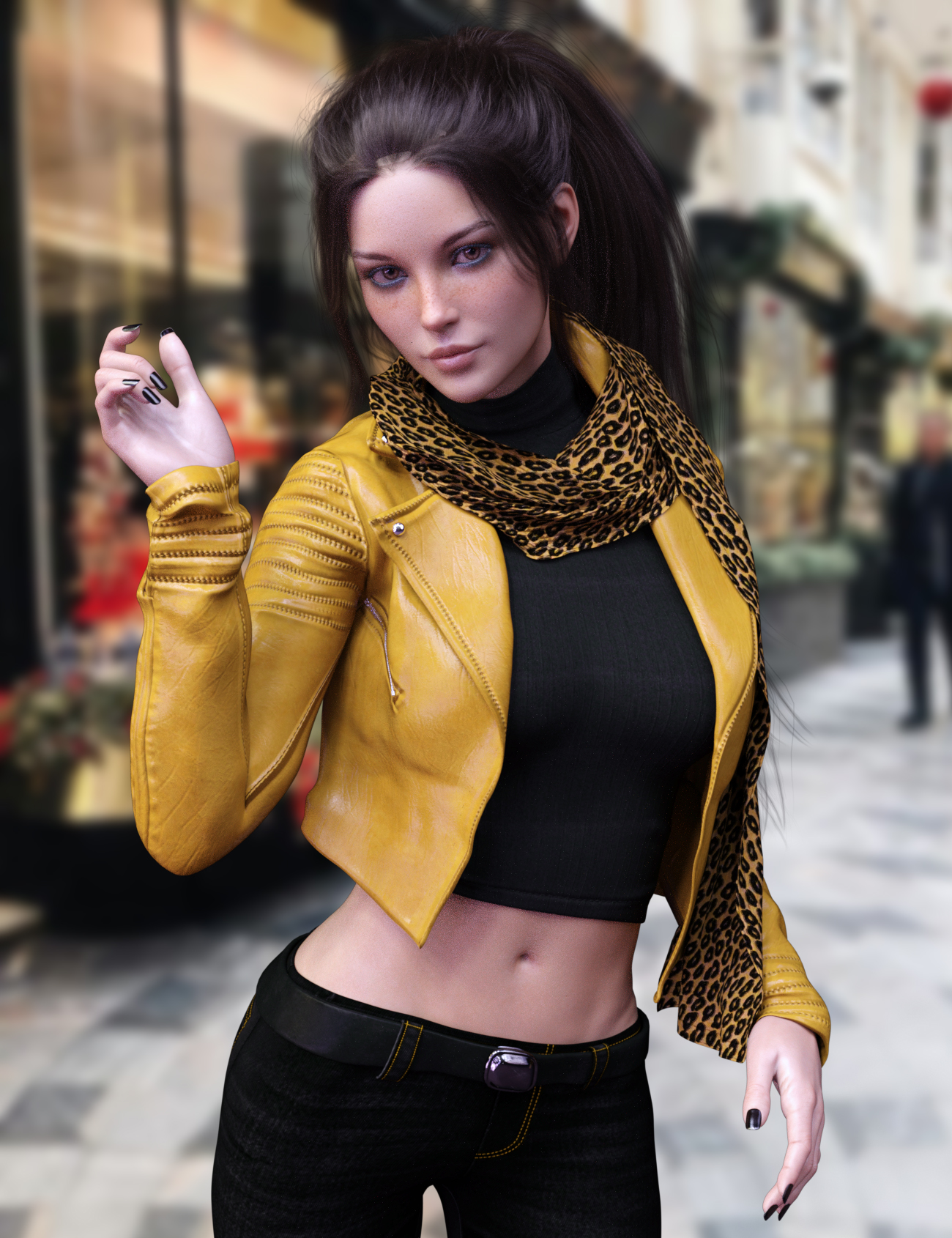 X-Fashion Sophisticated Jacket Outfit by: xtrart-3d, 3D Models by Daz 3D
