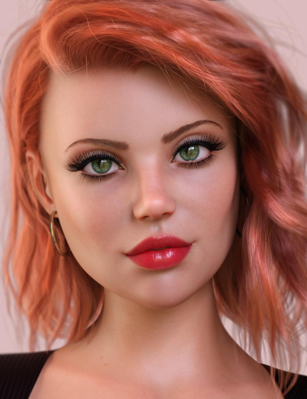 Lanna for Genesis 8 Female by: maelwenn, 3D Models by Daz 3D