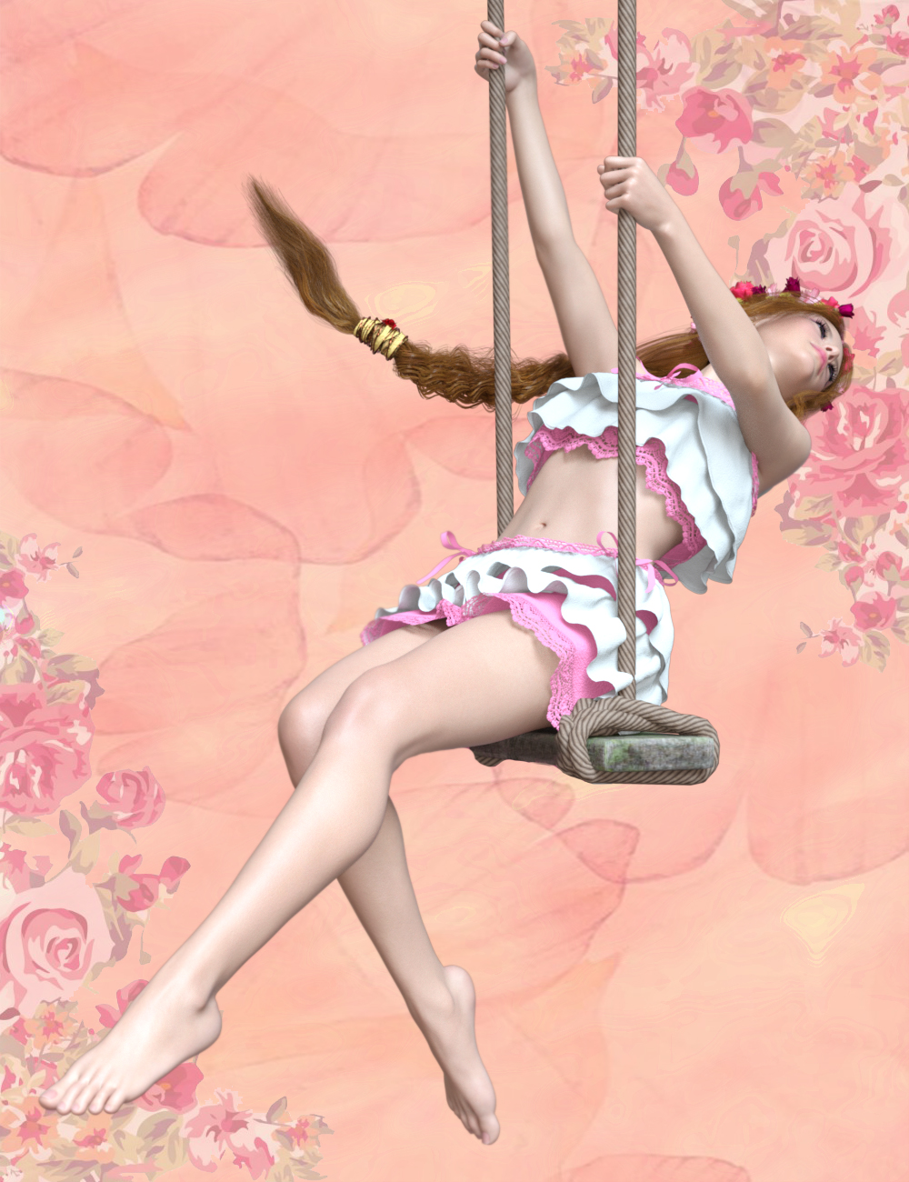 Swing Poses for Genesis 8 Female by: Ensary, 3D Models by Daz 3D