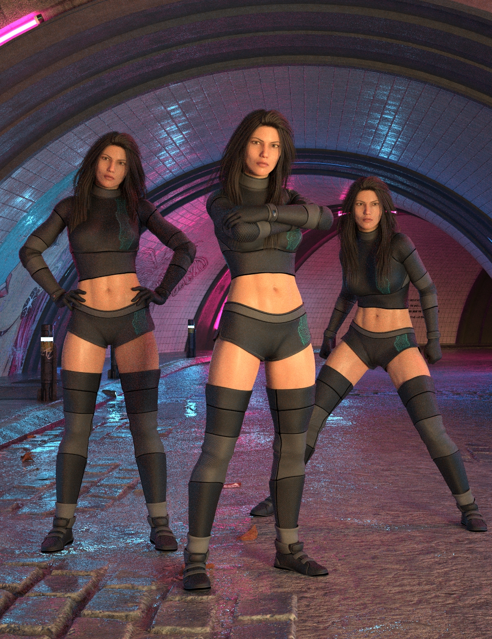 Stand Strong Poses for Genesis 8 Female by: Scuffles3d, 3D Models by Daz 3D