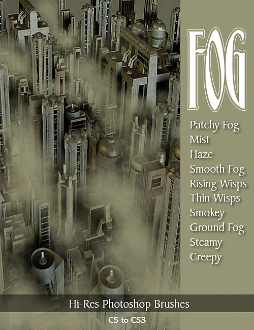 Ron's Fog by: deviney, 3D Models by Daz 3D