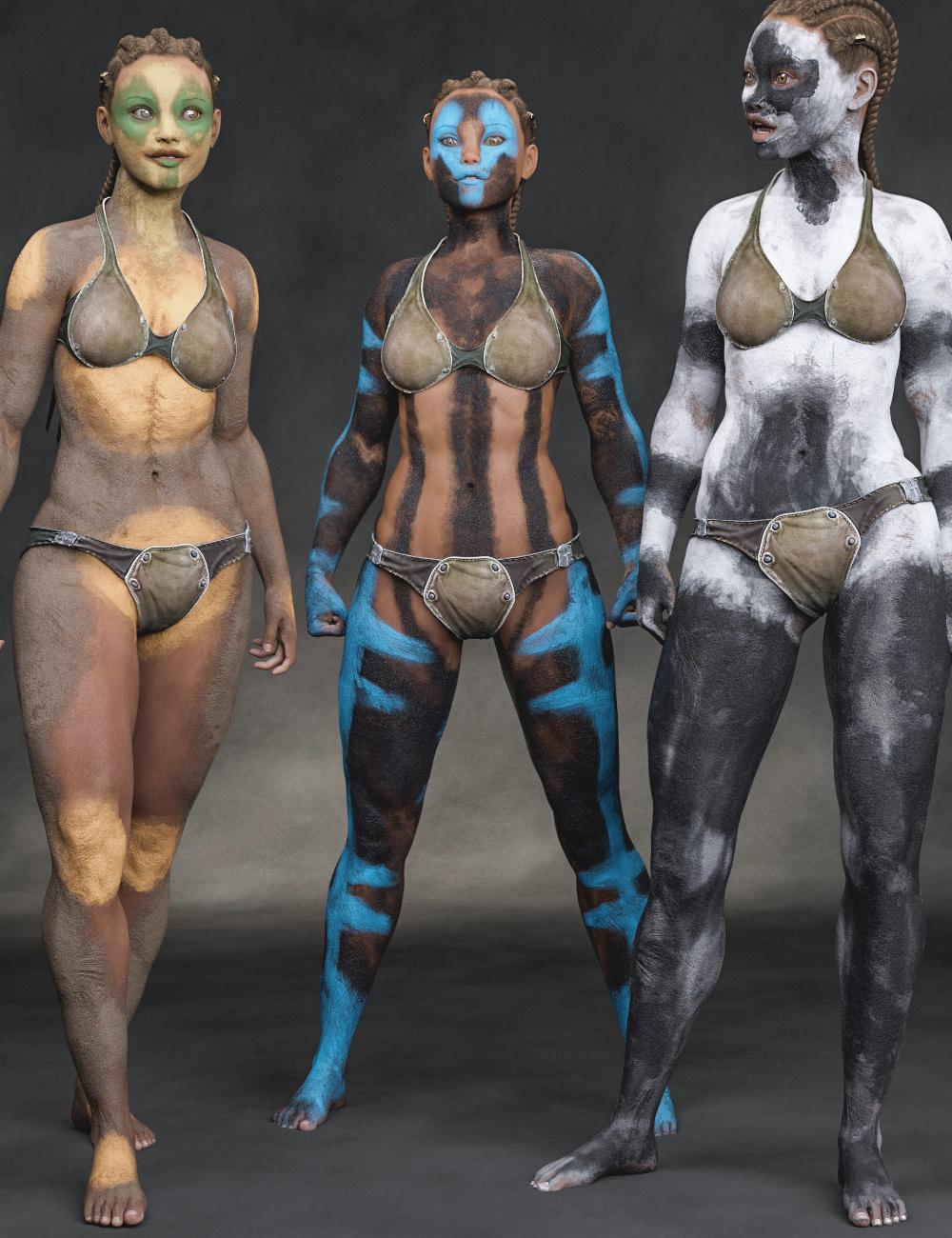 Aki Bodypaints Vol 2 for Genesis 8 Female(s) by: Aeon Soul, 3D Models by Daz 3D