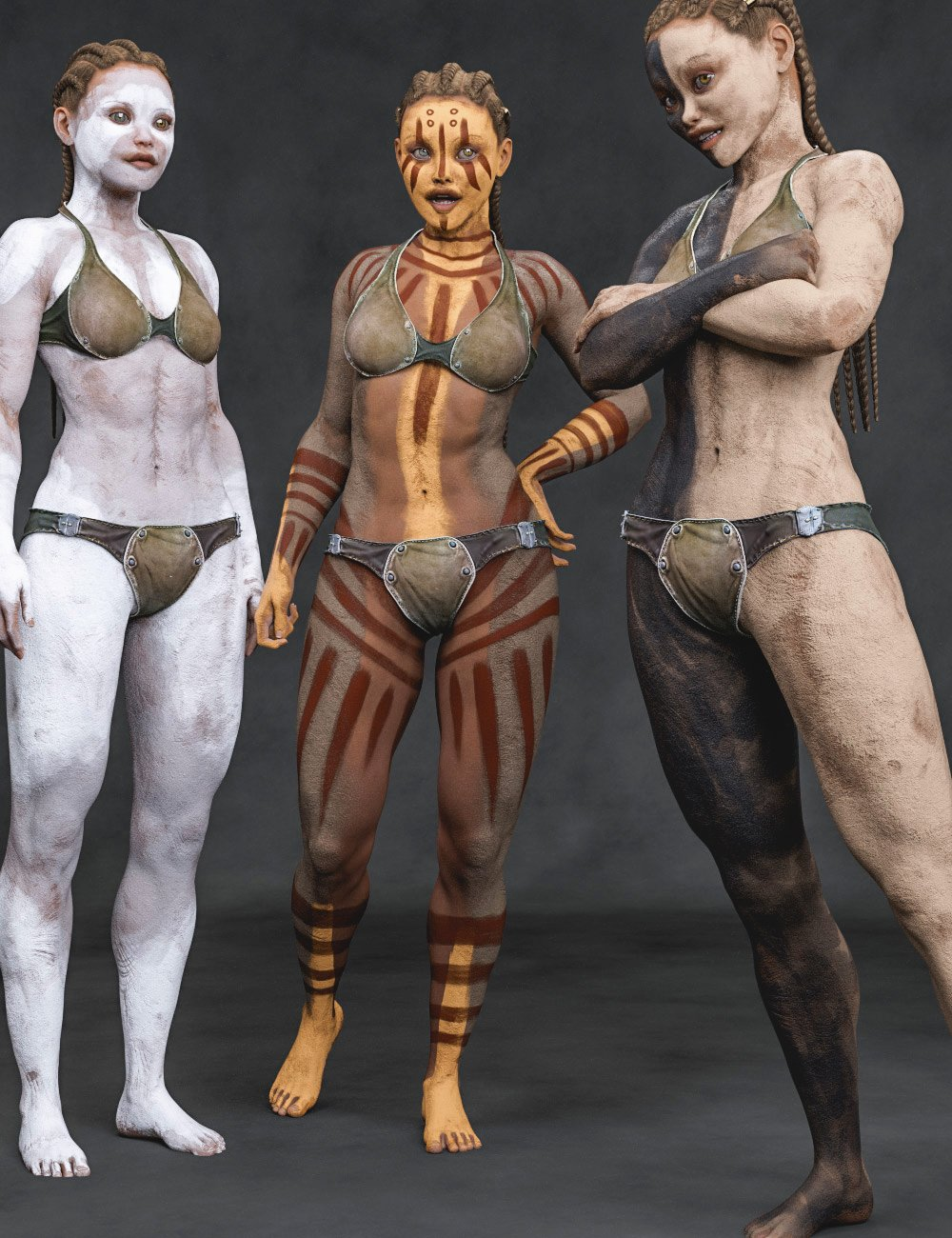 Aki Bodypaints Vol 1 for Genesis 8 Female(s) by: Aeon Soul, 3D Models by Daz 3D