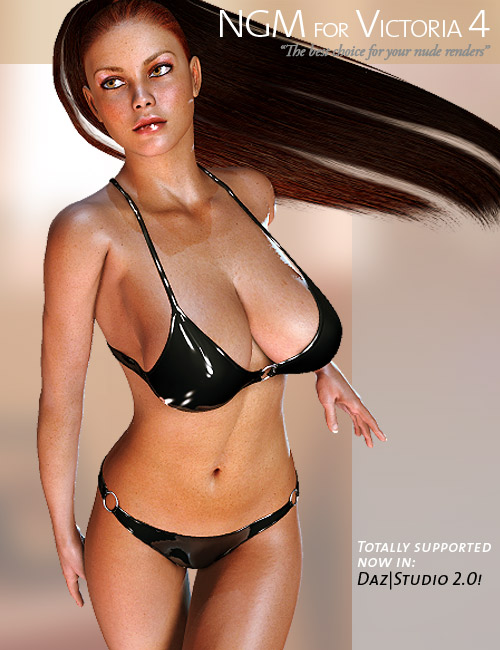 NGM for V4 by: Posermatic, 3D Models by Daz 3D