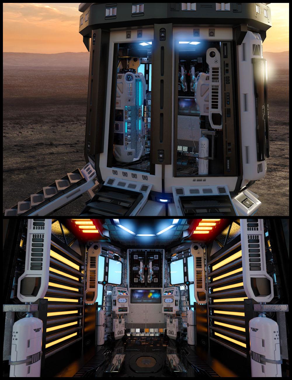 The Aurora by: Studio360, 3D Models by Daz 3D