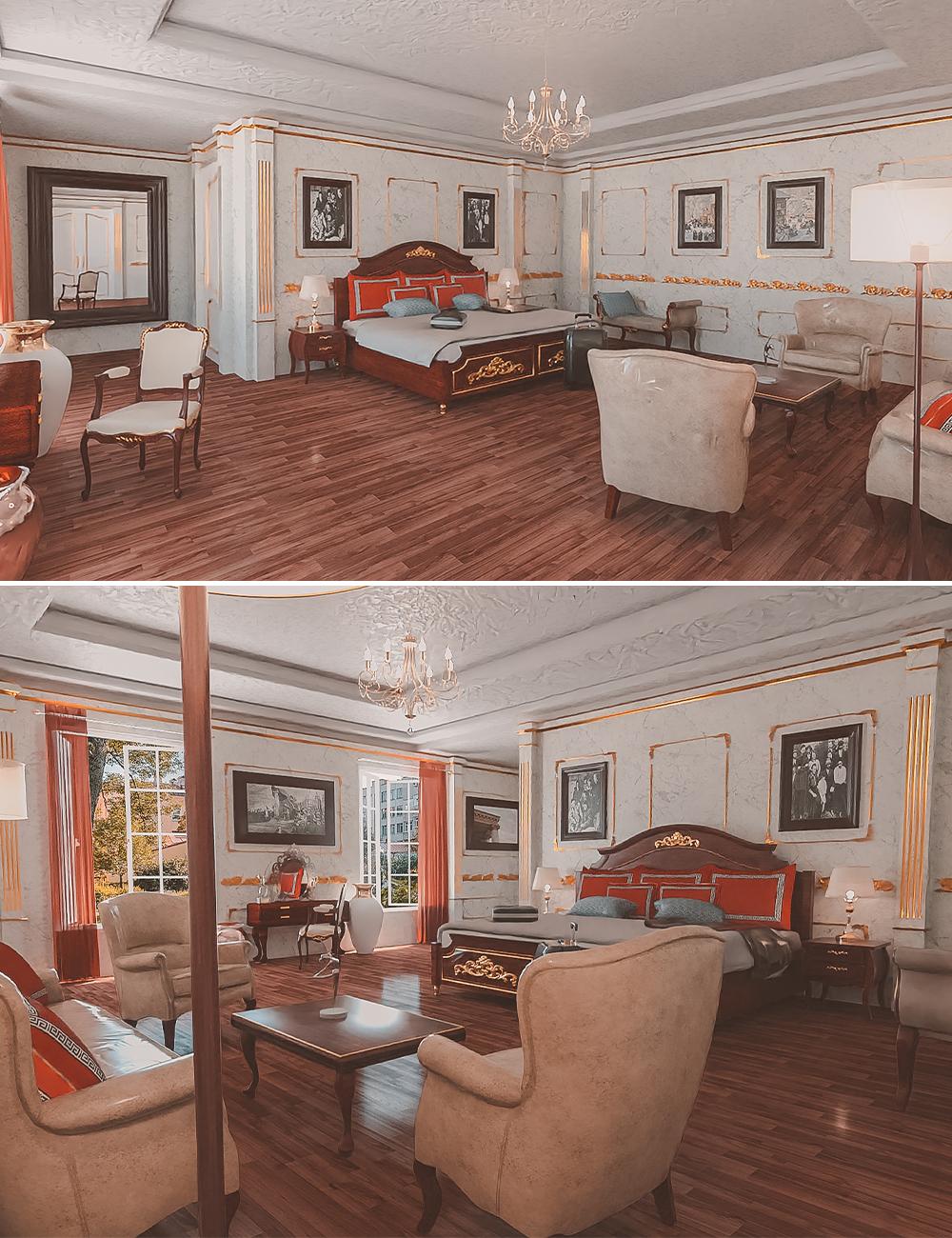 Russian Bedroom