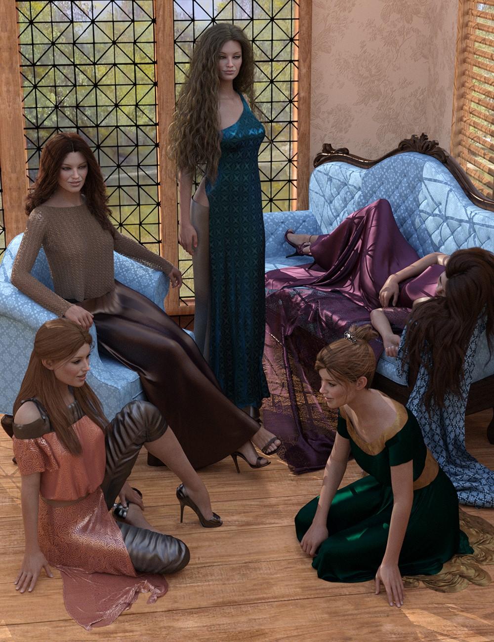 Elegant Essentials Poses for Genesis 8 Female by: Elliandra, 3D Models by Daz 3D