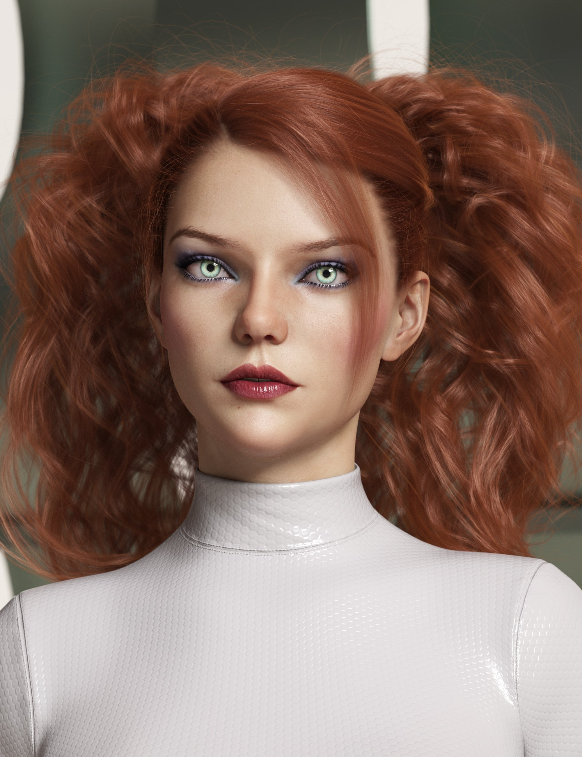 Surrounding Curls Hair for Genesis 3 and 8 Female(s) by: outoftouch, 3D Models by Daz 3D