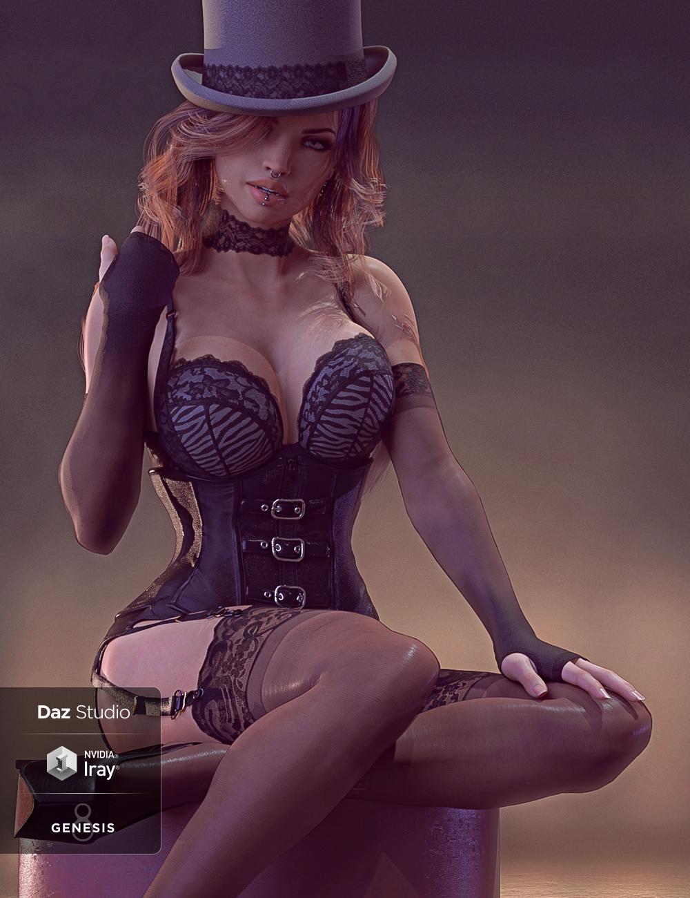 Mystique for Genesis 8 Female(s) by: Herschel Hoffmeyer, 3D Models by Daz 3D