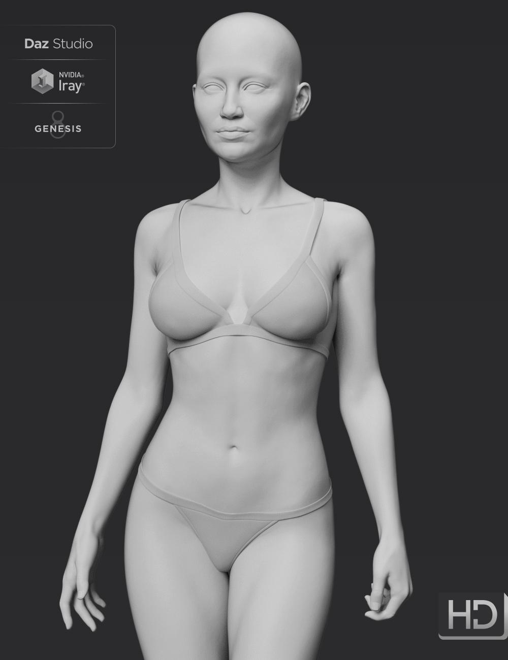 Alawa 8 HD Add-On by: , 3D Models by Daz 3D