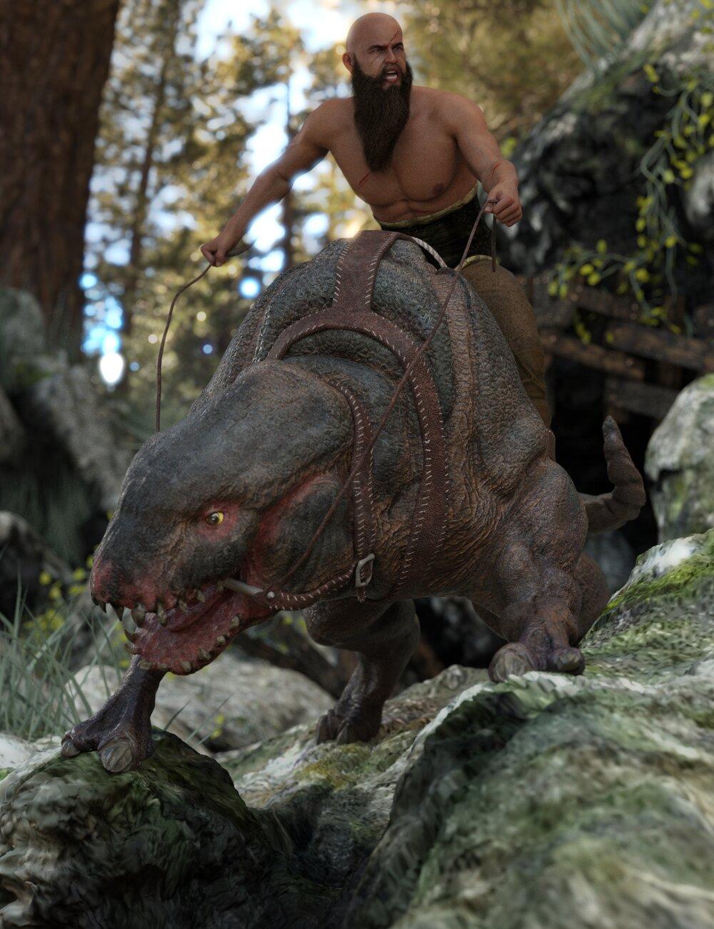Rococerous HD Original Creature by: Sixus1 Media, 3D Models by Daz 3D