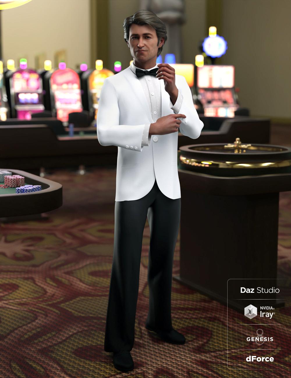 dForce Monte Carlo Suit for Genesis 8 Male(s) by: Moonscape GraphicsNikisatezSade, 3D Models by Daz 3D