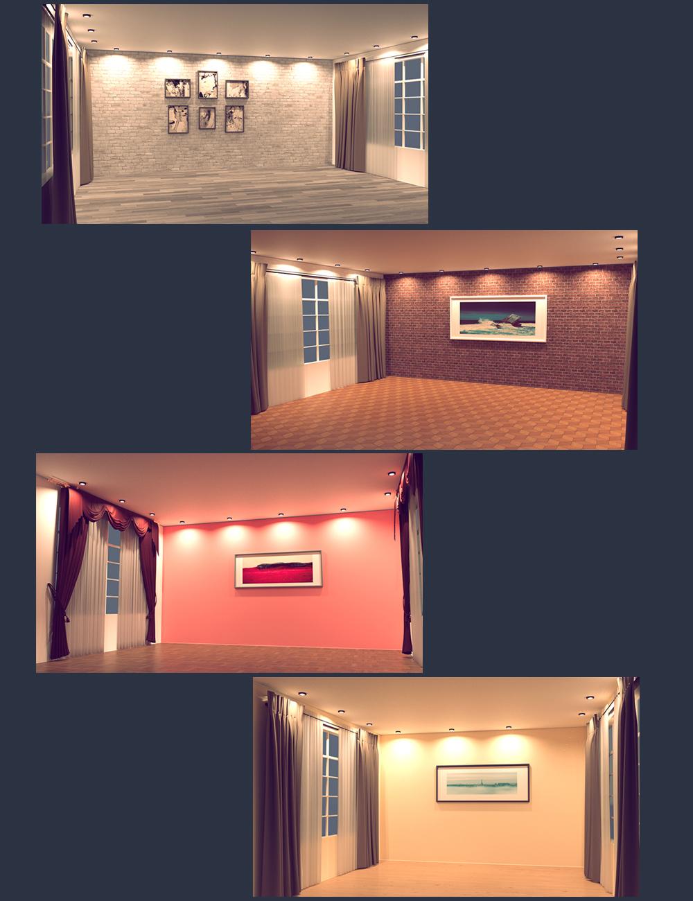 Interior Vignette 01 by: Polish, 3D Models by Daz 3D