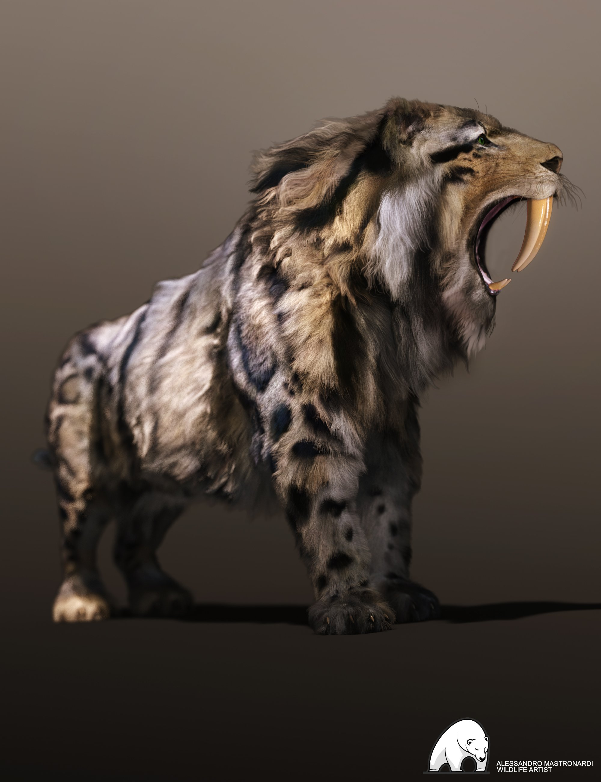 Felidae by AM - Smilodon Populator by: Alessandro_AM, 3D Models by Daz 3D