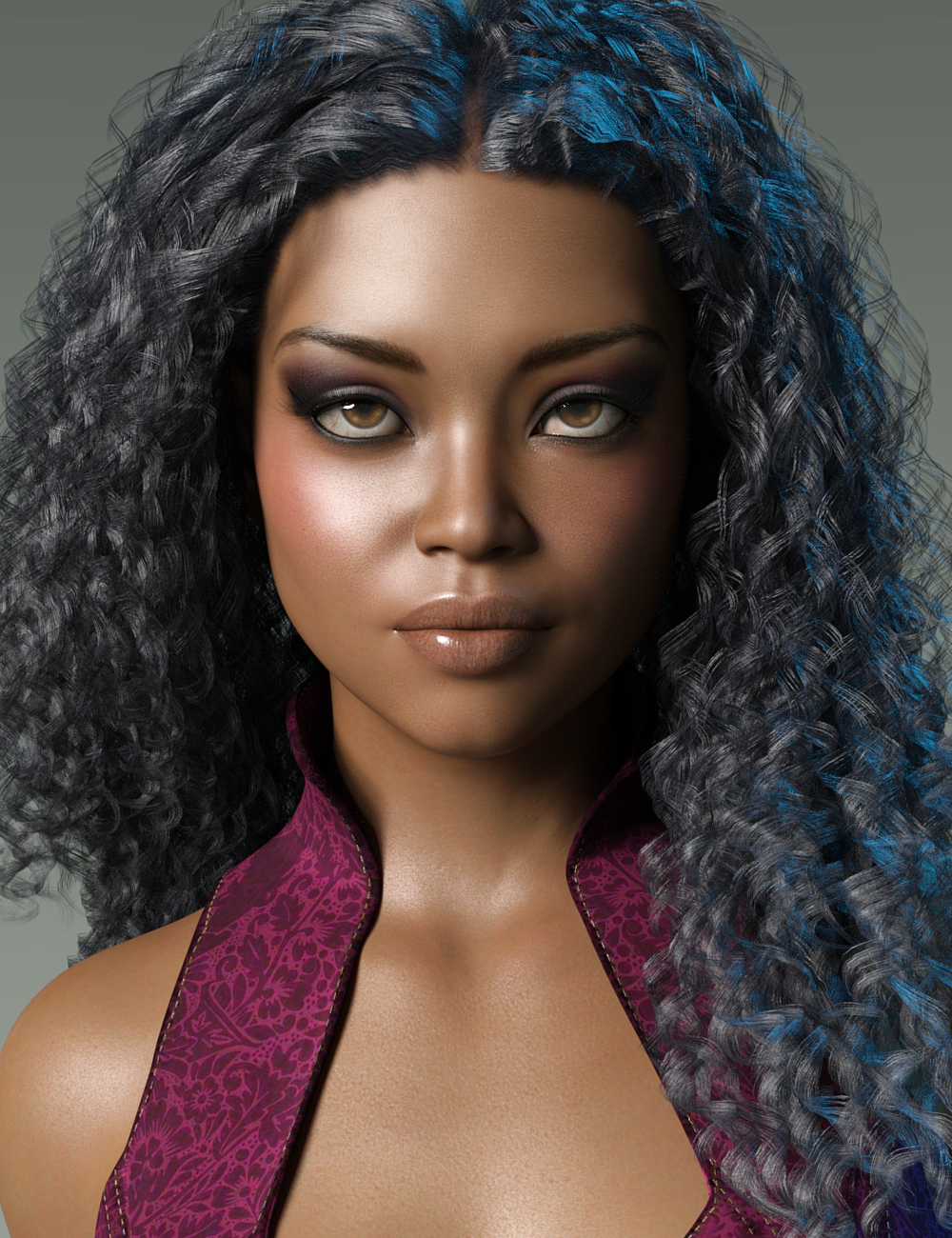 Chamani for Nida 8 by: JessaiiAdiene, 3D Models by Daz 3D