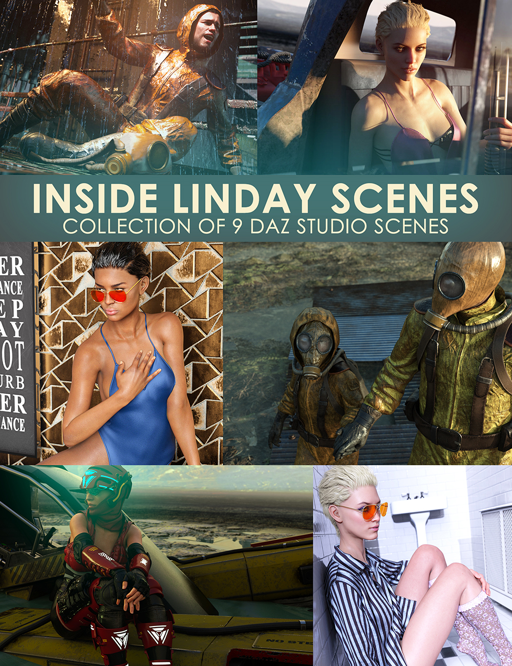 Inside Linday's Daz Studio Iray Scenes by: Linday, 3D Models by Daz 3D