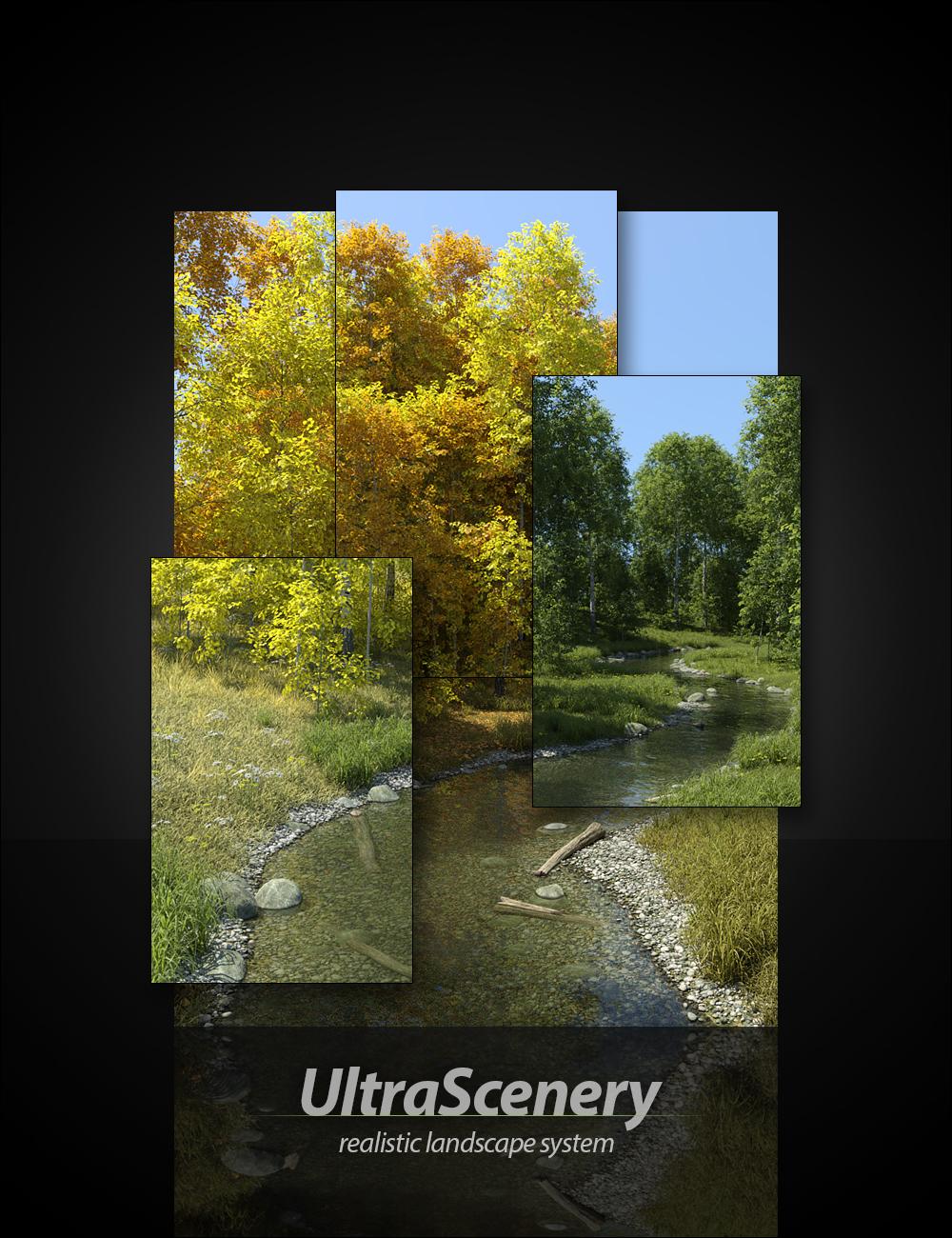 UltraScenery - Realistic Landscape System by: HowieFarkes, 3D Models by Daz 3D