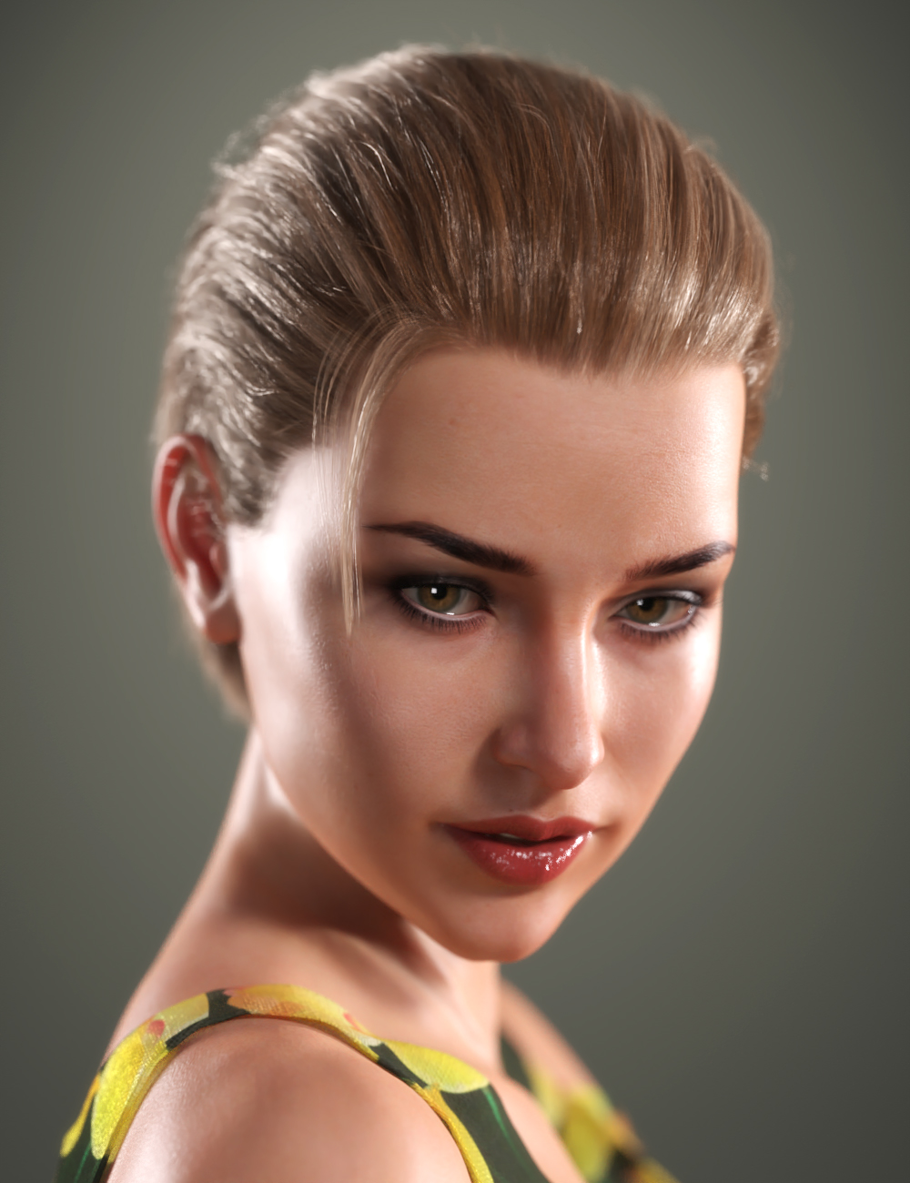 SP Hair 010 for Genesis 3 and 8 Female(s) by: Sarah Payne, 3D Models by Daz 3D