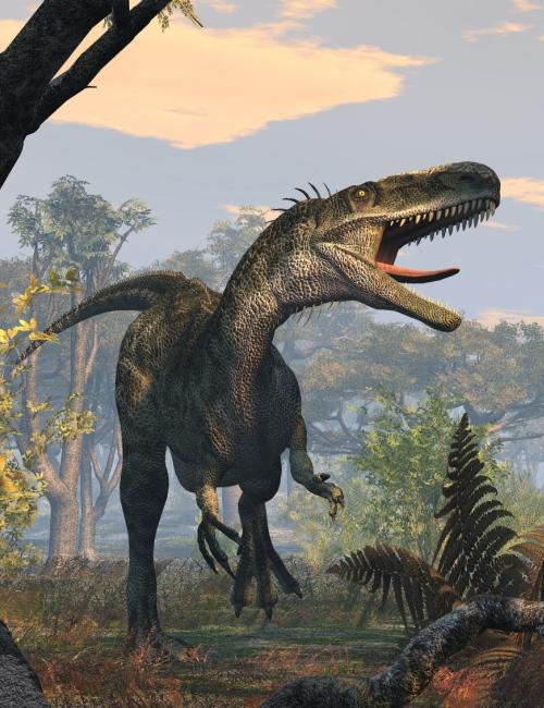 MonolophosaurusDR by: , 3D Models by Daz 3D