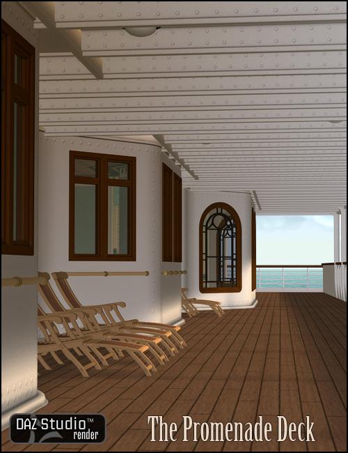 The Promenade Deck by: , 3D Models by Daz 3D