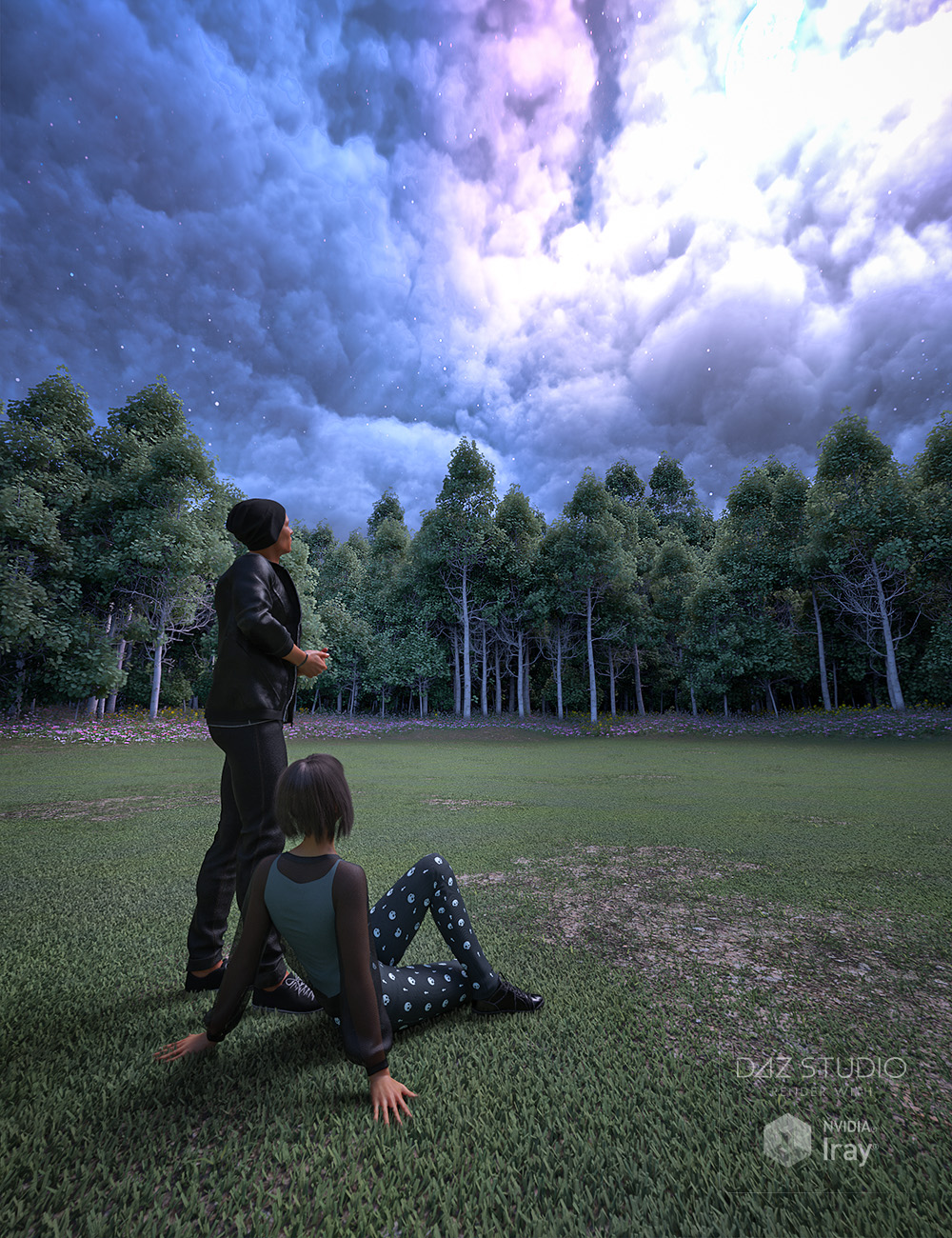 Skies of Sylva - 20 Forest Themed 8K HDRIs for Iray by: DimensionTheory, 3D Models by Daz 3D