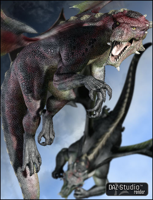 SubDragon Textures by: , 3D Models by Daz 3D