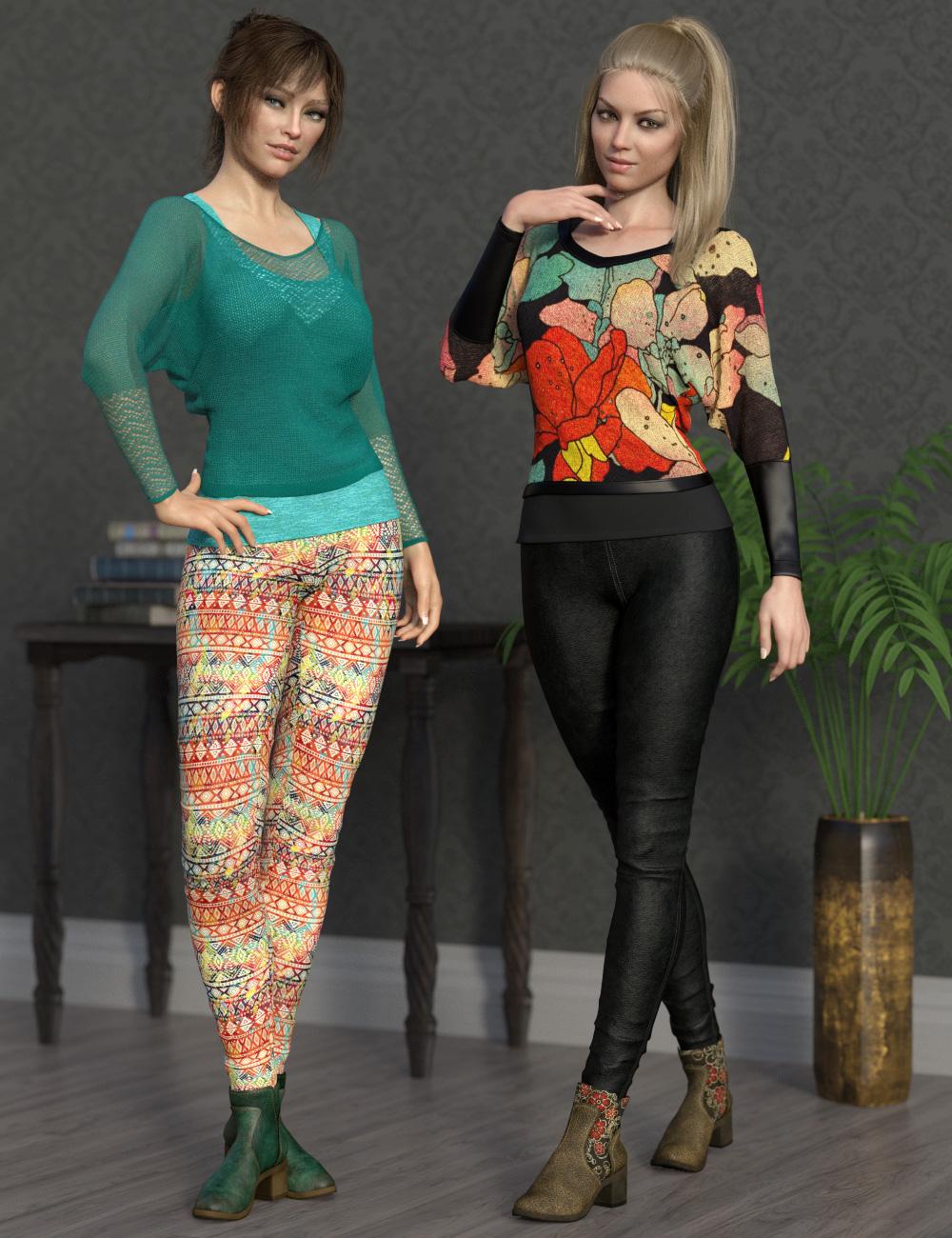 dForce Collection 04 Texture Expansion by: esha, 3D Models by Daz 3D