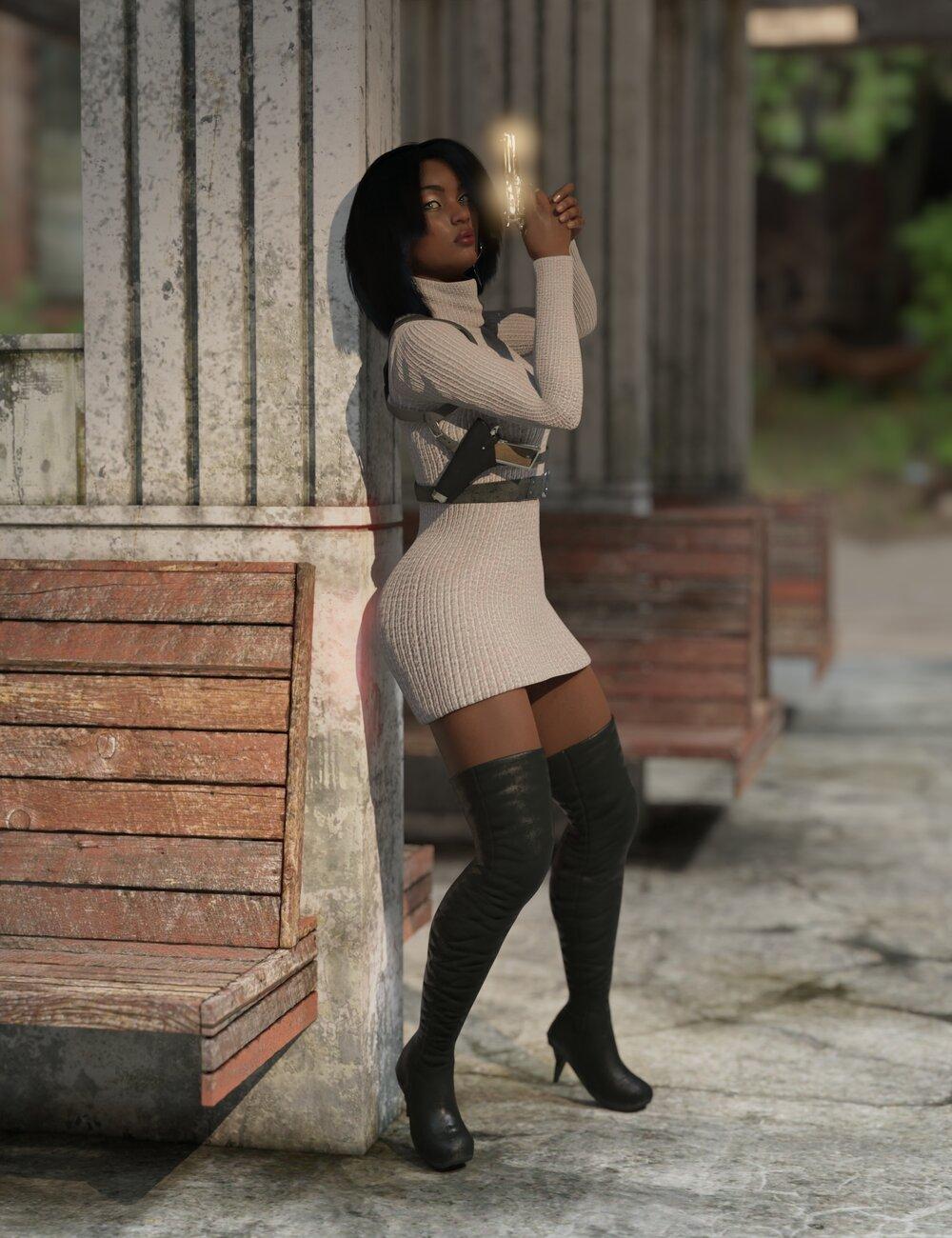Operation Arrowhead Spy Kit for Genesis 8 Female by: Sixus1 Media, 3D Models by Daz 3D