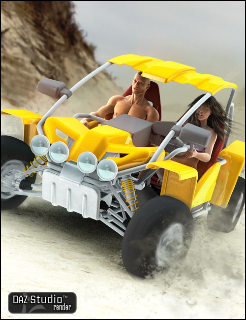 Buggy by: , 3D Models by Daz 3D