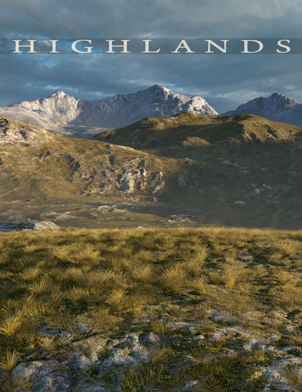 Highlands by: Aako, 3D Models by Daz 3D