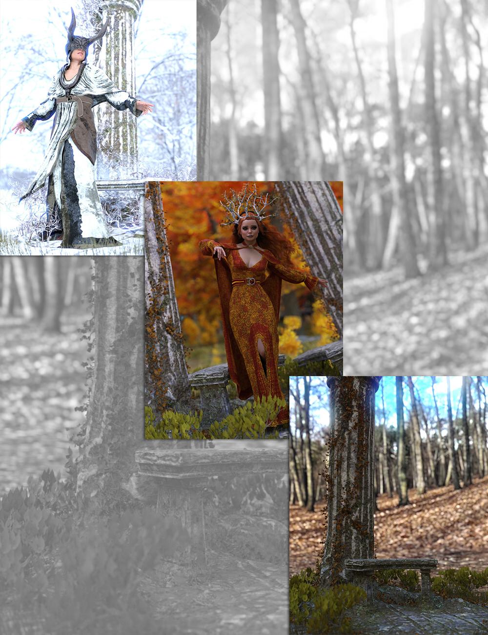 Seasons Bundle by: Sixus1 Media, 3D Models by Daz 3D