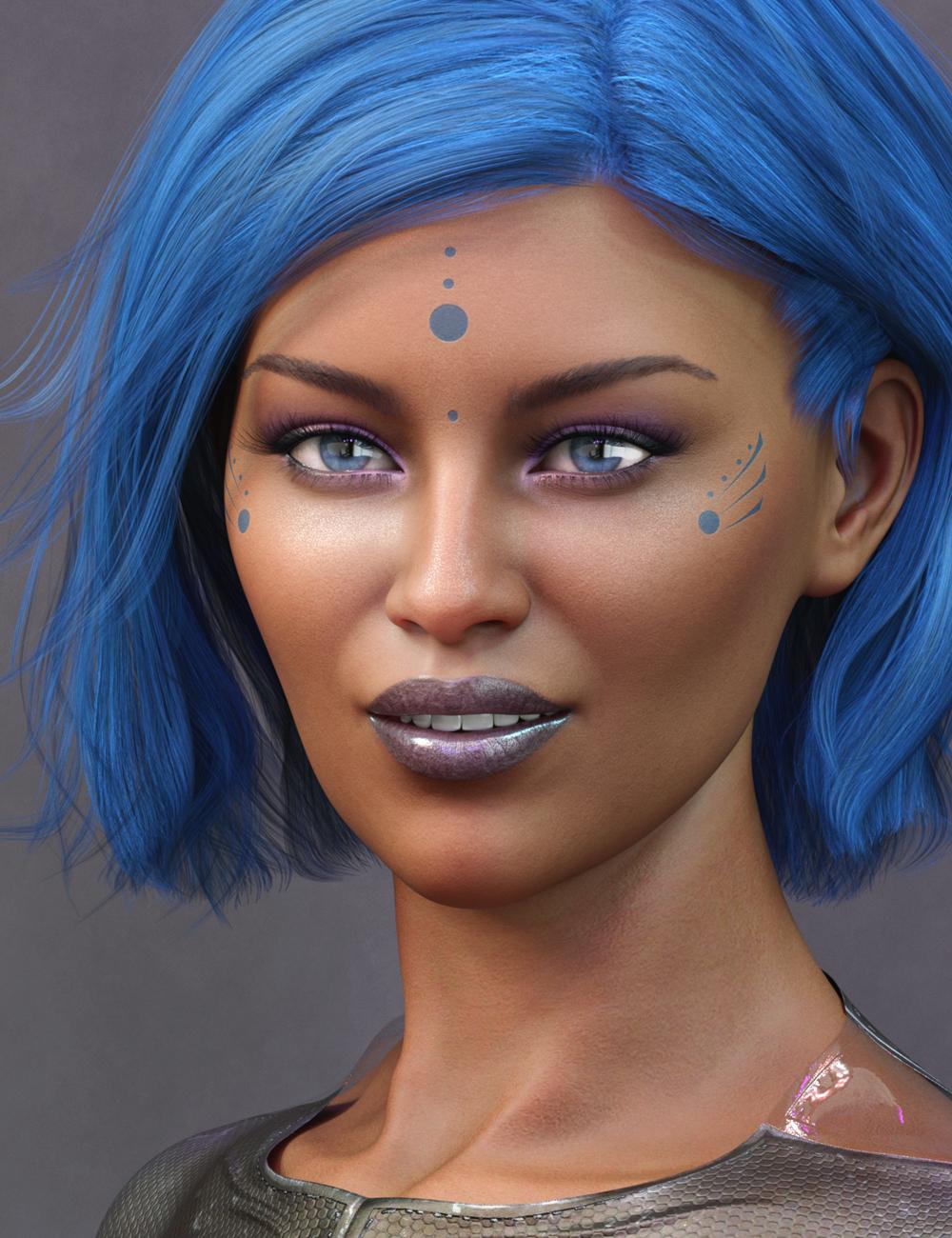 Anika HD for Alawa 8 by: Emrys, 3D Models by Daz 3D