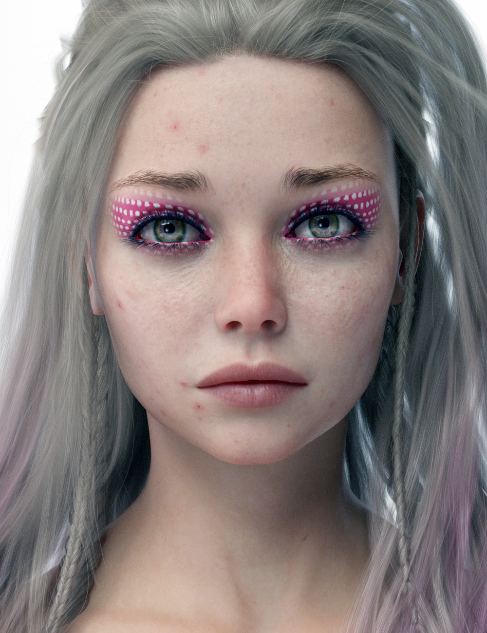 Eiluned HD For Genesis 8 Female by: iSourceTextures, 3D Models by Daz 3D