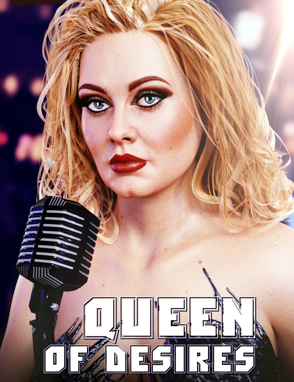Queen of Desires HD for Genesis 8 Female by: AlFan, 3D Models by Daz 3D