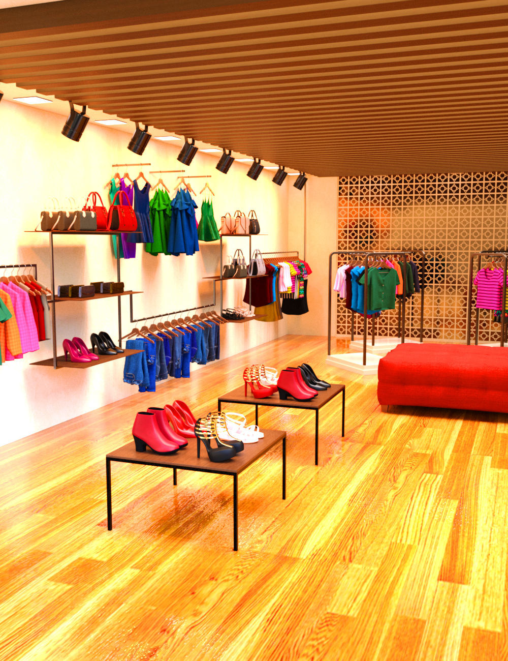 Clothes Shop by: Charlie, 3D Models by Daz 3D