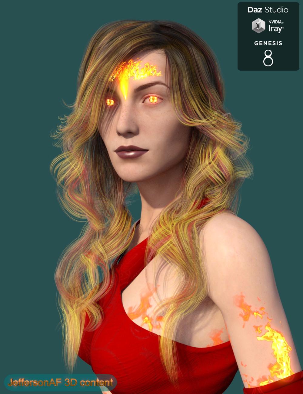 Eleonora for Genesis 8 Female(s) by: JeffersonAF, 3D Models by Daz 3D
