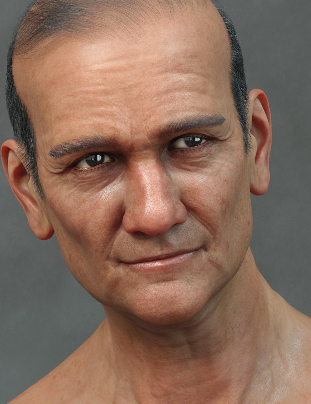 Seb HD for Genesis 8 Male by: Emrys, 3D Models by Daz 3D