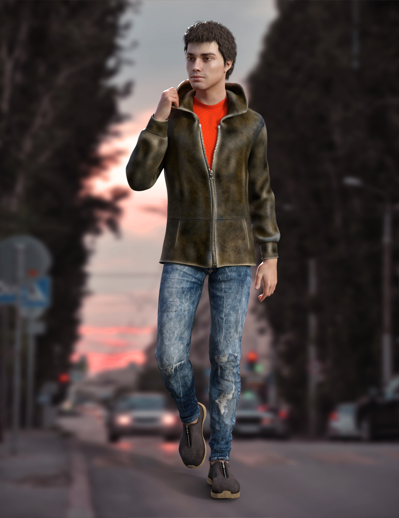 Vlad Outfit for Vlad Original Figure and for Genesis 8 Male(s) by: Vyusur, 3D Models by Daz 3D